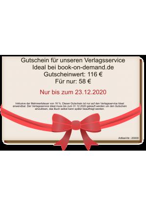 Gutschein für Autoren bei book-on-demand.de