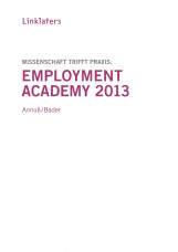 Linklaters Employment Academy 2013