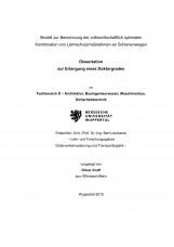 Modell zur Berechnung der volkswirtschaftlichen optimalen Kombination von Lärmsc
