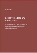Strictly models and objects first