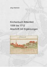 Kirchenbuch Bittenfeld (Gde. Waiblingen) von 1558 bis 1712