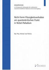 Nicht-Fermi-Flüssigkeitsverhalten am quantenkritischen Punkt in Nickel-Palladium