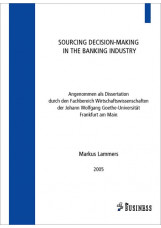 Sourcing of Decision-making in the banking industry