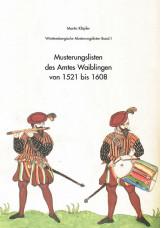 Musterungslisten des Amtes Waiblingen von 1521 bis 1608