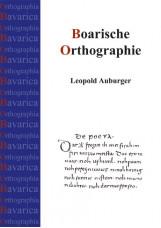 Boarische Orthographie