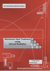 Aluminium heat treatment using infrared radiation