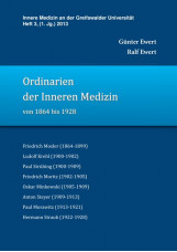 Ordinarien der Inneren Medizin von 1864 bis 1928