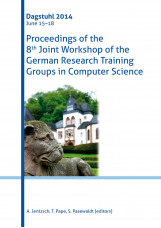 Proceedings of the 8th Joint Workshop of the German Research Training Groups in