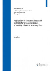 Application of operational research methods for ergonomic design of working plac
