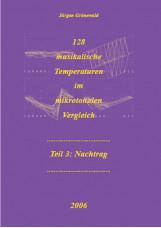 128 musikalische Temperaturen im mikrotonalen Vergleich