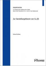 Zur Darstellungstheorie von SL1 (D)