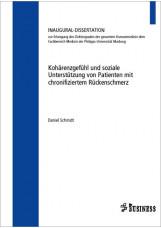 Kohärenzgefühl und soziale Unterstützung von Patienten mit chronifiziertem Rücke