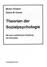 Theorien der Sozialpsychologie / Theorien der Sozialpsychologie