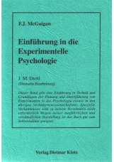 Einführung in die experimentelle Psychologie / Einführung in die experimentelle