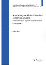 Absicherung von Wetterrisiken durch Temperatur-Anleihen