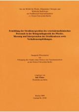 Ermittlung der Strahlenexposition des veterinärmedizinischen Personals in der Rö