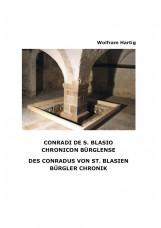Conradi de S. Blasio - Chronicon Bürglense