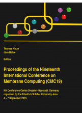 Proceedings of the Nineteenth International Conference on Membrane Computing (CM