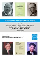Schriftenreihe zur Geschichte der Akustik Heft 10