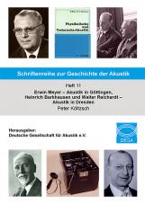 Schriftenreihe zur Geschichte der Akustik Heft 11
